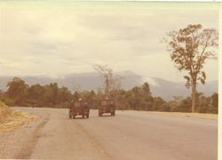 High Mountain Range - new road