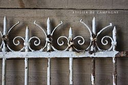 #29/290 FRENCH FENCING DETAIL