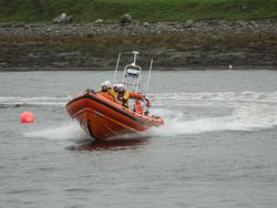 Sligo Bay RNLI rescues eight people after boat capsizes off Aughris Pier