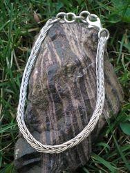 Fine Silver Etruscan Bracelet