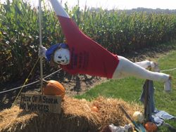 Scarecrow Contest runner up