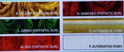 Synthetics/Alternatives