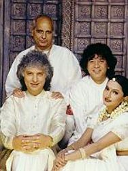 Pandit Jasraj Ji, Pandit Shiv Kumar Sharma and Ustad Zakir Hussain