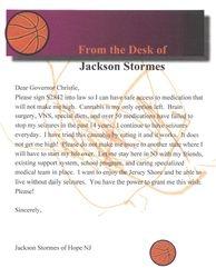 Jaxs Letter on S2842