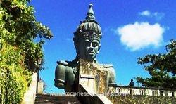 Giant Statue of Vishnu