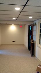Office Remodel- LED Recessed Lights
