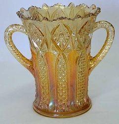 Hobstar Band celery vase, maker?