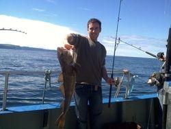 fishing in Ireland galway cod
