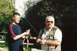 Michael O'Doherty & Junior Angler