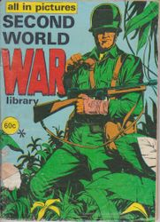 All in Pictures War Comic (Aust)