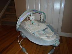 Ingenuity InLighten Twinkle Tails Bouncer - $40