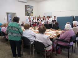 WACCA members enjoying the carols
