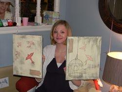 Rachel Henderson with Free Bird