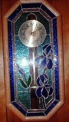 Oak Framed Geo Clock