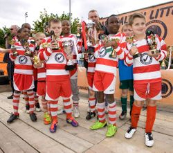 Saxons League & Cup Winners