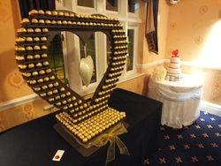 Ferrero rocher heart hire