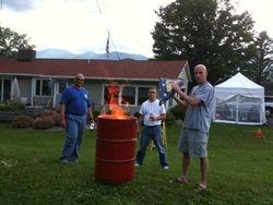 Flag Burning Ceremony