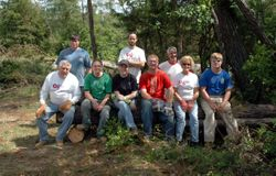 OSERVS Volunteering after the Webster County Tornado in 2011