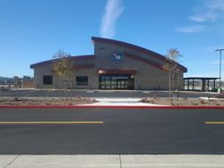 Front of new terminal