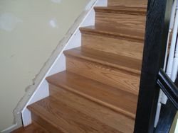 STAIRS PRE-MADE!! THEN INSTALLED WITH PERFECTION!!!