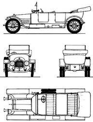 Crossley Saloon Car