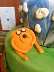 Fondant Jake the Dog Adventure Time