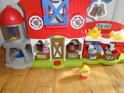 Fisher Price Little People Caring For Animals Farm Playset - $18