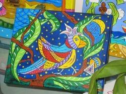 Local Artist Heather  Stouffer Originals on Canvas