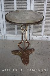 #24/252 FRENCH TABLE MARBLE TOP