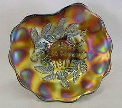 MILLERSBURG, Campbell & Beesley Co. Spring Opening1911 handgrip plate - amethyst
