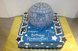 25 serving Death Star cake $7 /serving