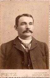 Henry Pietz, photographer, of Omaha, NE
