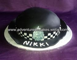 police womans hat cake