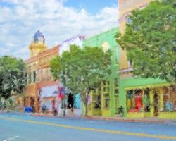 Main Street of Monroe NC