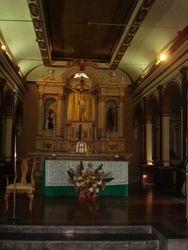 Altar Iglesia de Tonacatepeque