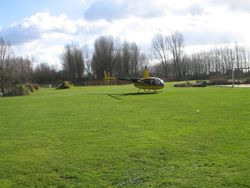 Helicopter vluchten naar wens