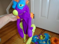 Melissa & Doug Make-Your-Own Fuzzy Monster Puppet Kit With Case - $13
