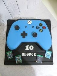 XBox Controller Birthday Cake