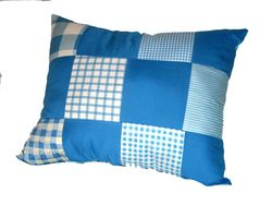 Country blue patchwork - not available