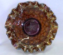 Many Stars 3 in 1 edge bowl amethyst