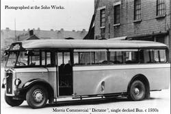 Morris Commercial, Smethwick. 1930s