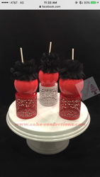 Hot Pink Candy Apples