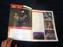 Page Spread with Table of Contents in Starburst Magazine #475: The Mandalorian Collectors¿ Edition at The Wombatorium 2.0: A Capital Idea