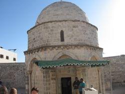 Mezquita erigida en el lugar de la resurreccion