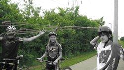 Bucket Club 2009 - Ride to Botanical Garden