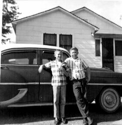 Dennis Herman and Terry Oxford