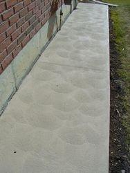 Plain Hand Finish Walkway