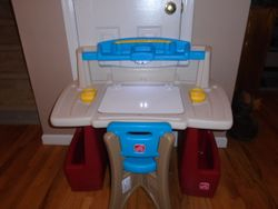 Step 2 Deluxe Art Master Desk with Chair - $50