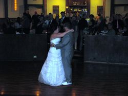 1st dance as a married couple