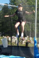 Trampoline competition